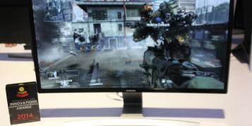 Samsung stellt ersten gebogenen LED-Monitor vor