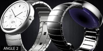 Moto 360 wird über Magnet-Induktion geladen