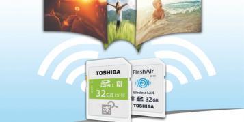 Toshiba: SDHC-Karten samt NFC und FlashAir-III-Karten ab März auch in Europa verfügbar