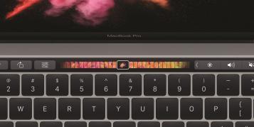 Touch Bar: Was plant Apple für die Zukunft?