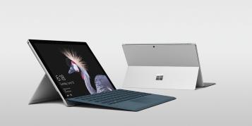 Microsofts Surface Pro 5 kann schneller und länger als das iPad Pro