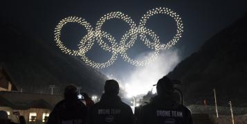 Keine Drohnenshow bei Olympia-Eröffnung