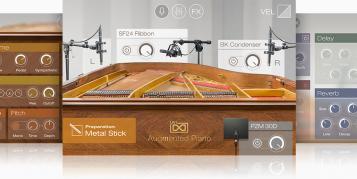 UVI Augmented Piano: virtuelles Klavier mit spannenden Variationen