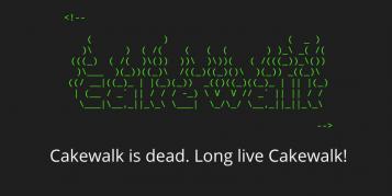 Die DAW Cakewalk Sonar lebt weiter!