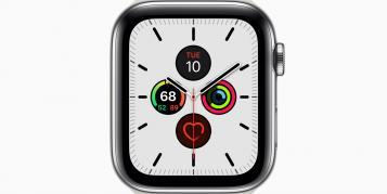 Neues watchOS-6-Zifferblatt läuft auch auf Apple Watch S4