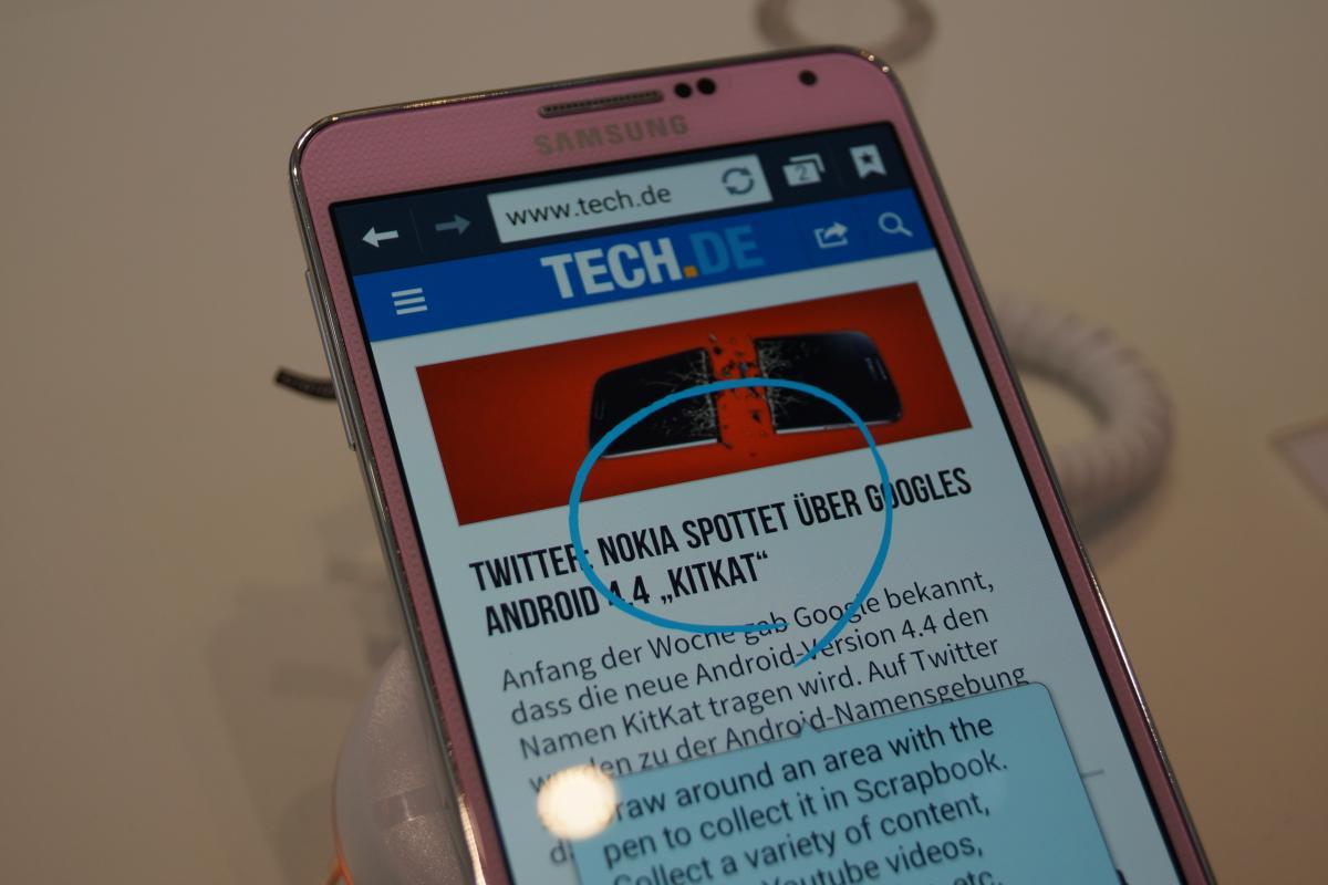 How to scrapbook videos on note 3 - Galaxy Note 3 Im Kurztest Erster Eindruck Vom Samsung Phablet