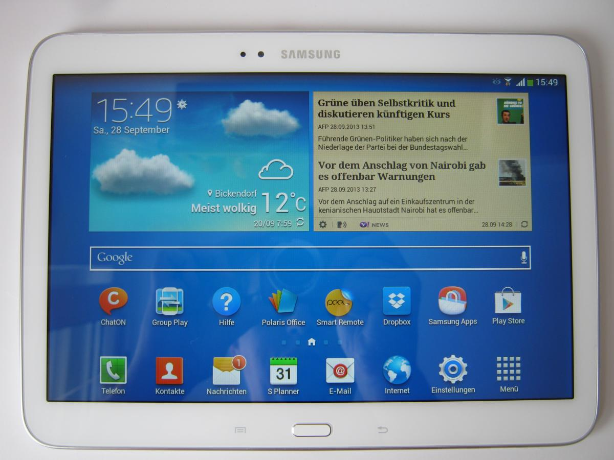 Sim Karte Für Tablet.Samsung Galaxy Tab 3 10 1 Getestet Tech De