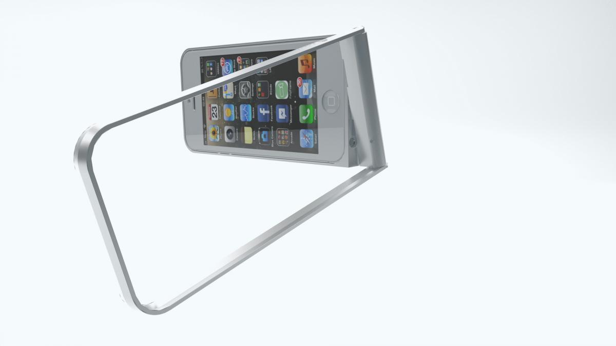 Fritzframe - der Rahmen fürs iPhone   TECH.DE