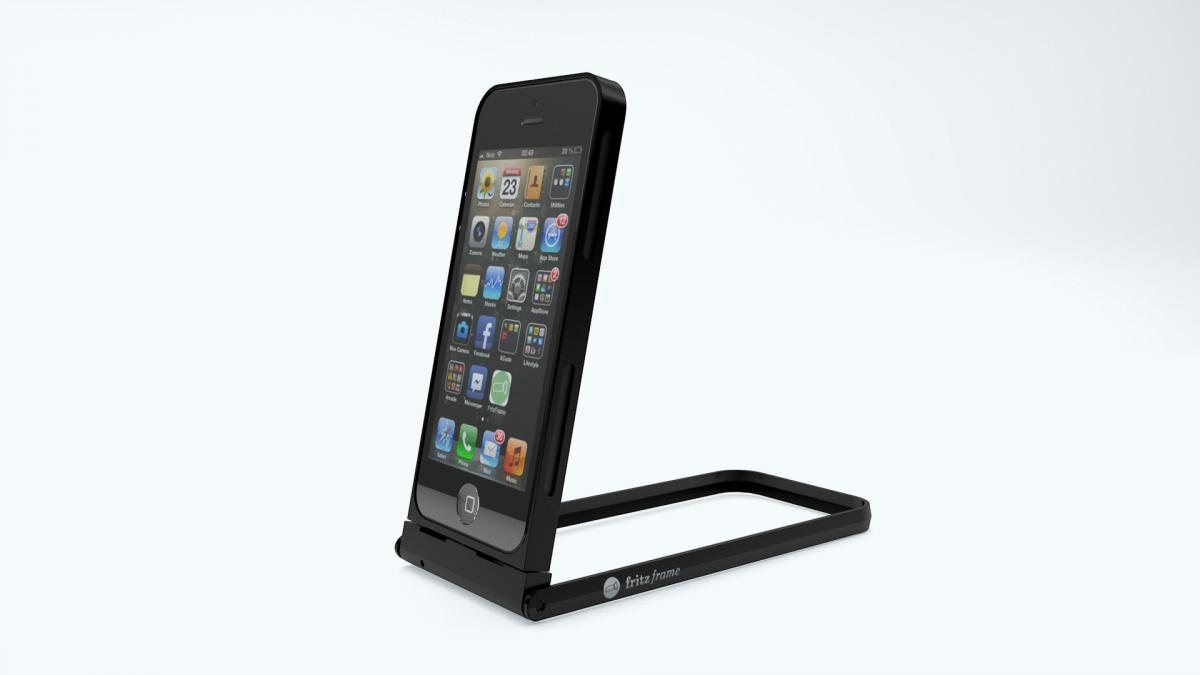 fritzframe der rahmen f rs iphone tech de. Black Bedroom Furniture Sets. Home Design Ideas