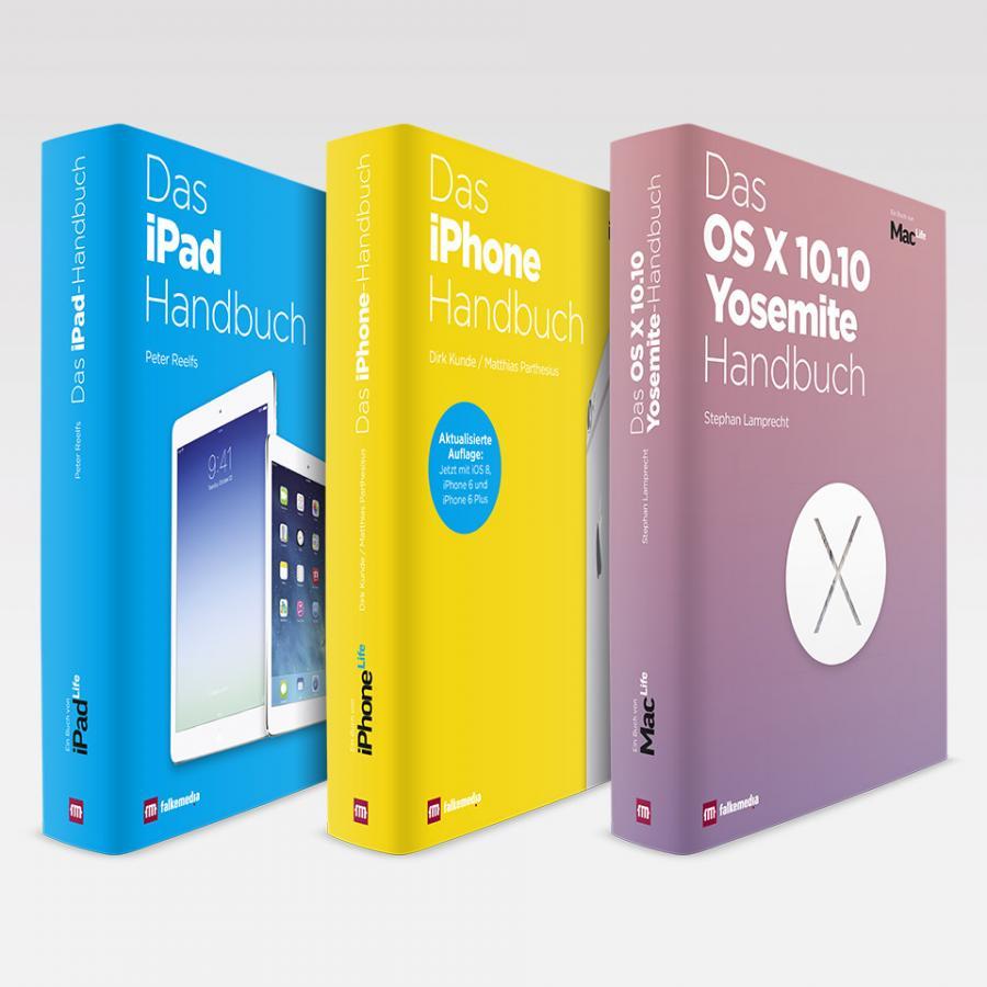 Werbung: Drei phantastische Apple-Bücher ab sofort erhältlich ...
