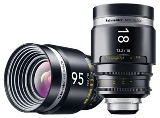 Schneider-Kreuznach bietet echte Profi-Objektive für das Filmen mit der digitalen Spiegelreflex an.