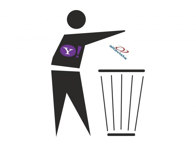 Yahoo beendet Suchmaschinen-Urgestein AltaVista