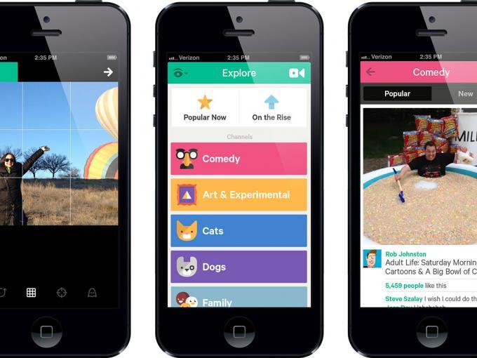 """""""Revining"""", Kategorien und manueller Fokus: Vine-iOS-App bekommt ein Update."""
