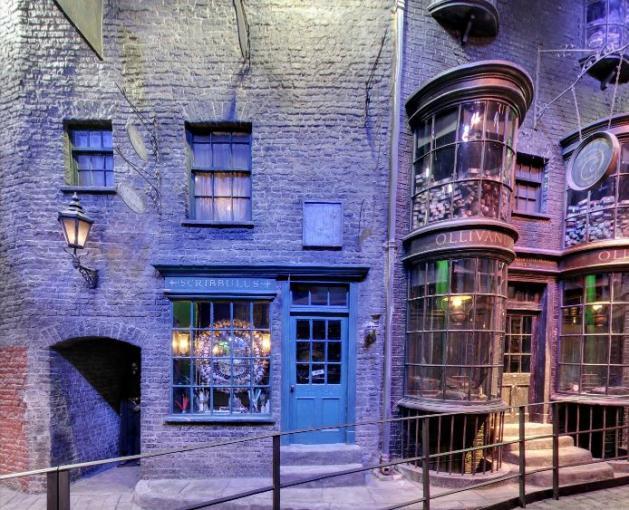 Harry Potter: Mit Google Street View in die Winkelgasse