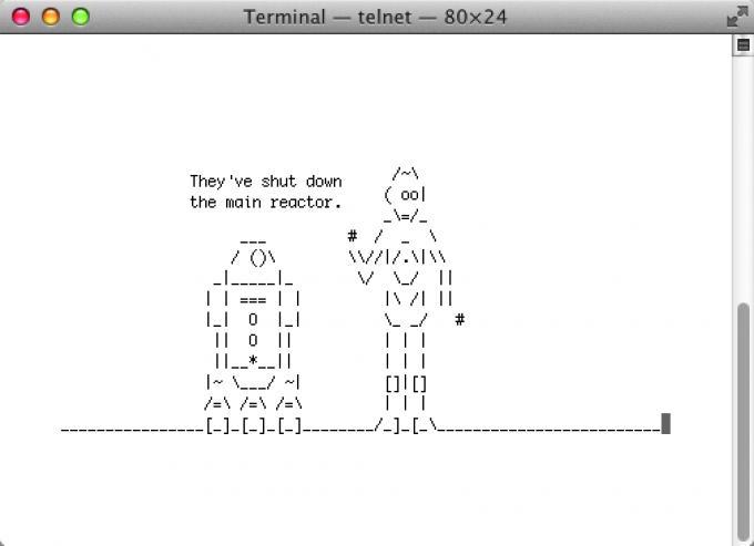 Star Wars, wie Sie es noch nie gesehen haben – als ASCII-Animation.