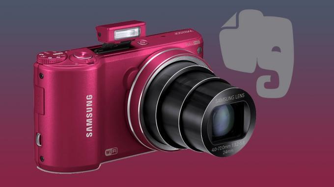 Samsung bringt Evernote auf seine Wi-Fi-Kamera