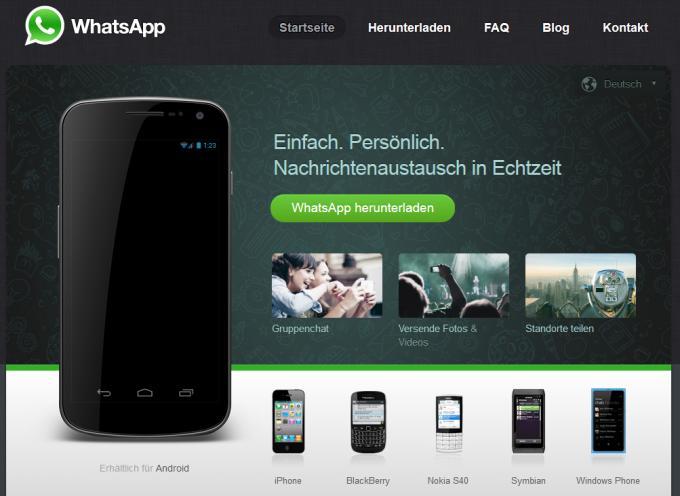 WhatsApp bekommt eine Sprachnachrichten-Funktion