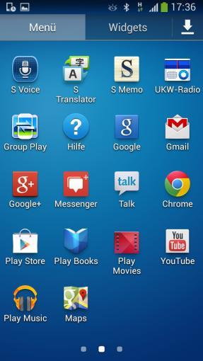 Über das Android-Betriebssystem hat Samsung selbstverständlich seine Touchwiz-Oberfläche gepackt.