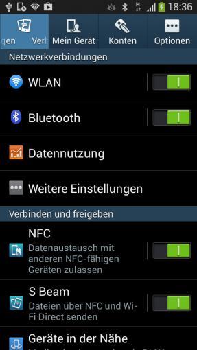Über einen Mangel an Verbindungsmöglichkeiten kann der S4-mini-Nutzer nicht klagen.