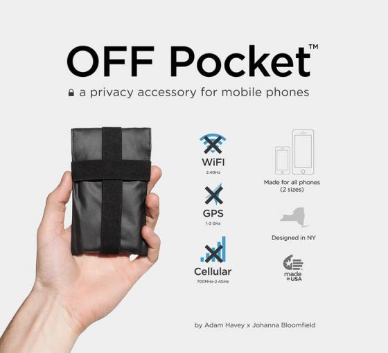 """Endlich Funkstille: Hülle """"OFF Pocket"""" soll vor Smartphone-Ortung schützen"""