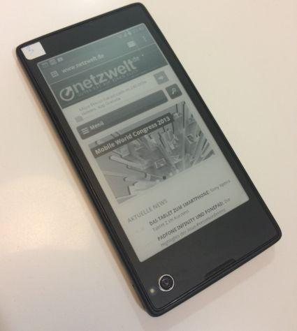 Yota Phone: Android-Smartphone mit 2 Displays
