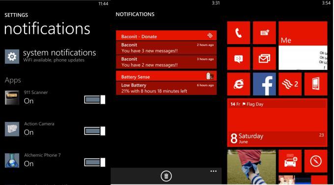 Windows Phone 8.1: Neue Bilder und Screenshots aufgetaucht