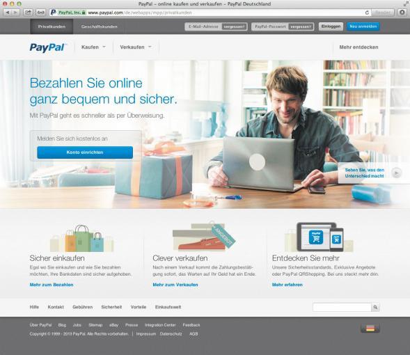 Mit dem Aufstieg von Ebay begann auch der Aufstieg von PayPal als Plattform für sichere Zahlungen im Internet.