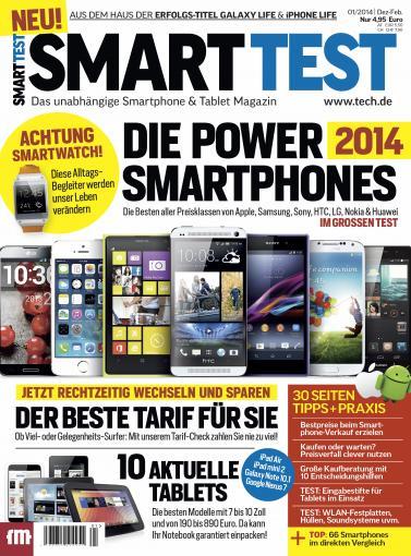 Kaufberatung für Smartphones und Tablets: SmartTest ab heute verfügbar