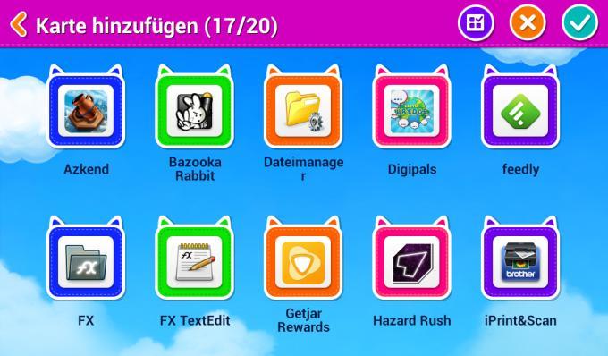 Apps hinzufügen: In der Standardeinstellung bietet der Kindermodus sämtliche Apps an, die die Eltern heruntergeladen haben. Das sollte man schnell abschalten.