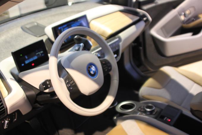Samsung und BMW: Prototypen-App für Galaxy Gear steuert Elektroauto