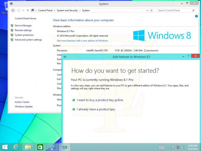 Windows 8.1 Update 1: Geleakte Screenshots zeigen Annäherung an Windows 9