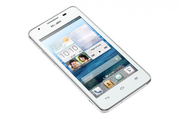 Das G525 bietet Huawei auch in Weiß an. Es ist mit etwa 160 Euro genau so teuer wie die schwarze Version.
