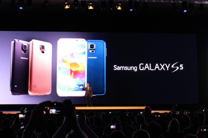 Samsung präsentiert sein Galaxy S5: Hands-on-Video und die innovativsten Funktionen