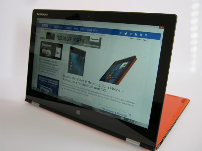 Der Tausendsassa Yoga 2 Pro schlägt sich im Test grundsätzlich erstmal gut.