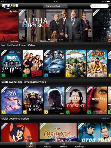 Amazons Video-On-Demand-Service punktet eher durch den Preis als das Angebot.