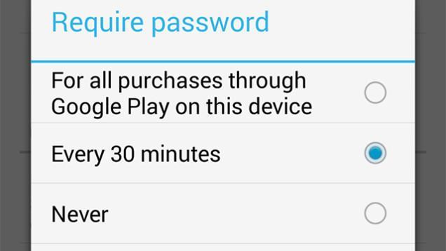 Google verbessert Passwort-Abfrage bei App-Käufen im Play Store