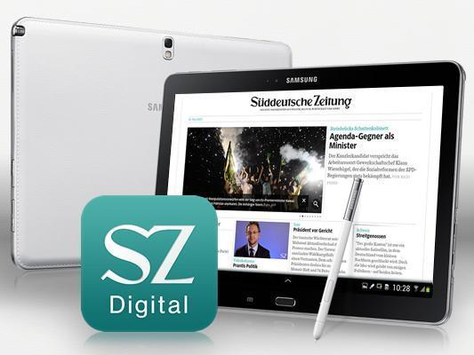 Samsung: Süddeutsche-Digital-Jahresabo als kostenlose Dreingabe