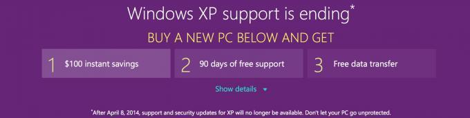Microsoft will den Abschied von Windows XP versüßen