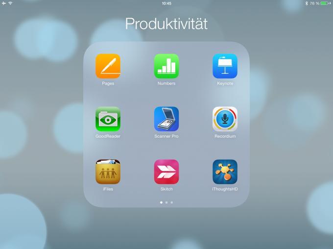 Produktiv mit dem iPad arbeiten – absolut kein Problem