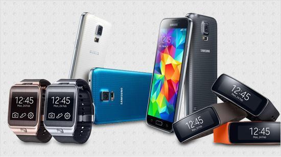 Nur diese Geräte sind mit Samsungs Gear-Smartwatches ...