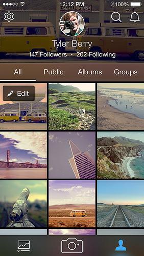 Flickr 3.0 auf Android
