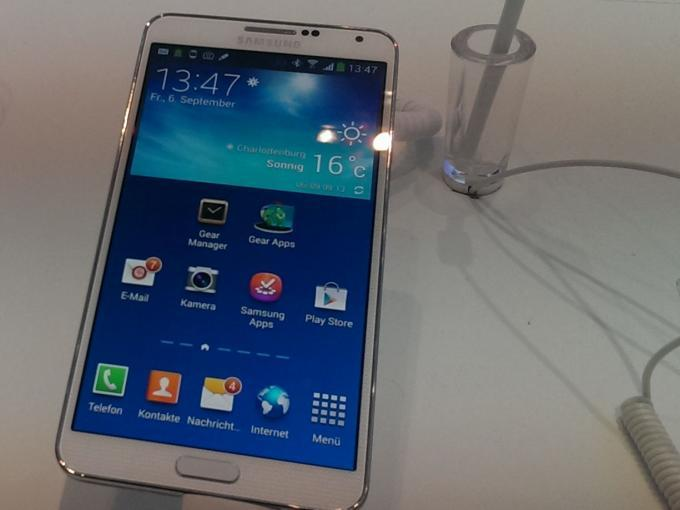 Samsungs Galaxy Note 3 im Alltagstest
