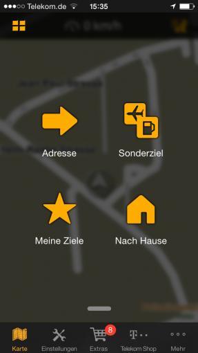 Viele Navigations-Apps brauchen unterwegs nur GPS und keinen Internetzugang.