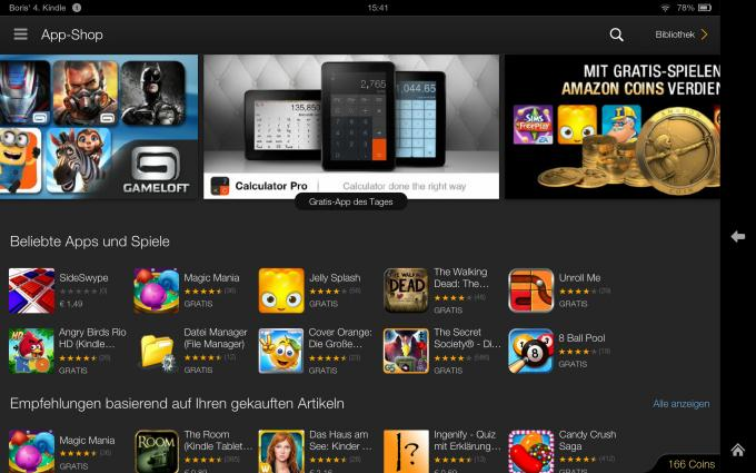 Kindle Fire HDX 8.9 im Test: Perfekt für Amazon-Fans