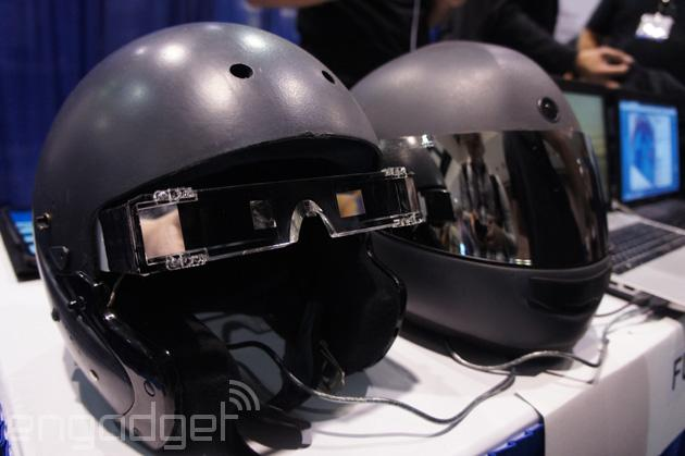 f r mehr sicherheit motorradhelm mit hud display tech de. Black Bedroom Furniture Sets. Home Design Ideas