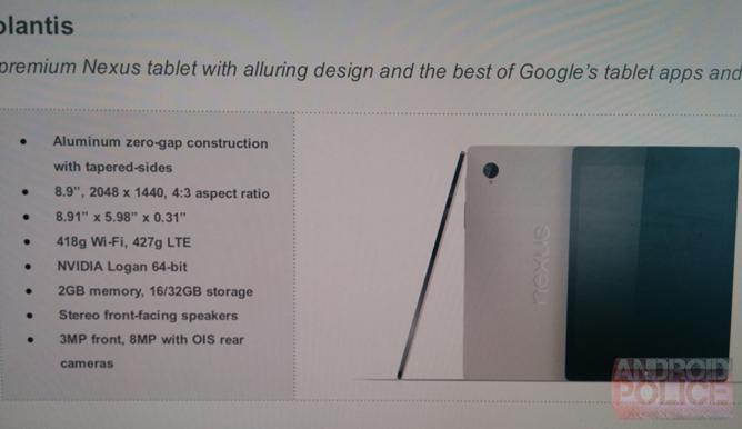 Google Nexus 9: Wieso Volantis oder Flounder alle anderen Android-Tablets abhängt