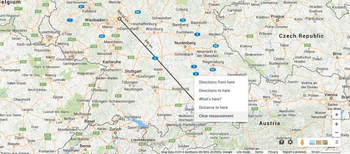 Google Maps: Praktische Luftlinienmessung kehrt in überarbeiteter Version zurück