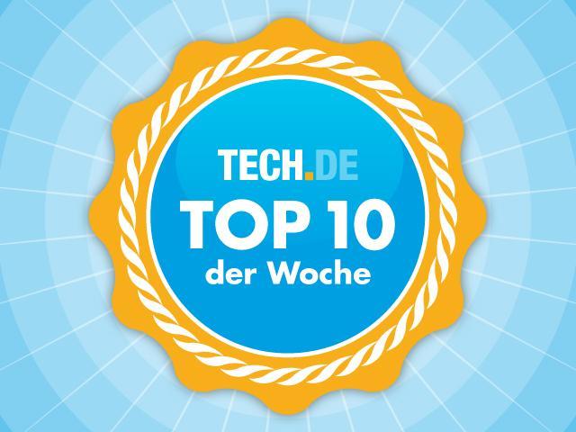 Die Tech.de-Hitparade: Die 10 wichtigsten Artikel der Woche - das solltet ihr auf keinen Fall verpasst haben