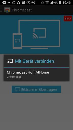 App-Tipp: Chromecast für Android