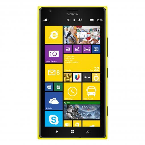 Das Nokia Lumia 1520 gehört mit seiner 20-Megapixel-Kamera zu den besten Foto-Handys. Das riesige 6-Zoll-Display (15,2 Zentimeter) erleichtert auch die mobile Bildbearbeitung.